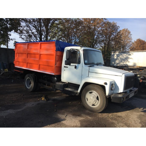 Изготовление самосвального кузова для грузового автомобиля ГАЗ